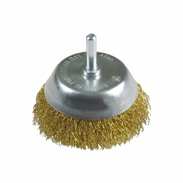 CUP BRUSH / BRASS WIRE / 75x0.3